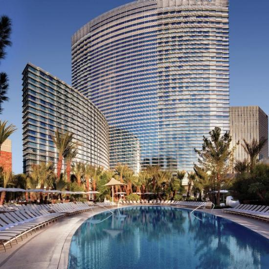 Aria Pool   Aria Resort & Casino